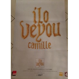 Camille - Ilo Veyou - AFFICHE / POSTER envoi en tube