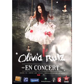 Olivia RUIZ - - AFFICHE / POSTER envoi en tube