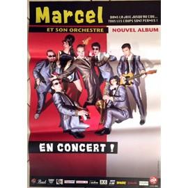 Marcel et son Orchestre - Dans La Joie ¿ - AFFICHE / POSTER envoi en tube