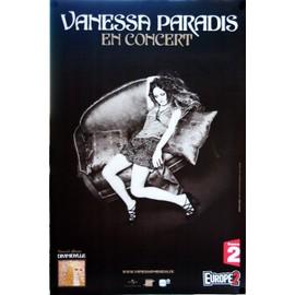 Vanessa Paradis - Divinidylle - En Concert - AFFICHE / POSTER envoi en tube