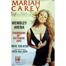 Mariah CAREY - World Tour 2003 - AFFICHE / POSTER envoi en tube