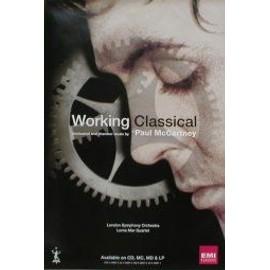 Paul McCartney - Working Classical - AFFICHE / POSTER envoi en tube