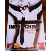 Indochine - Paradize Tour - Affiche / Poster Envoi En Tube