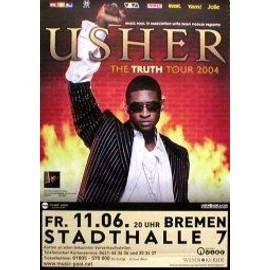 USHER - Germany 2004 - AFFICHE / POSTER envoi en tube