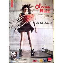 Olivia RUIZ - Jean-Baptiste MONDINO - AFFICHE / POSTER envoi en tube