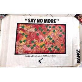 Frankie goes To Hollywood - Say No More - AFFICHE / POSTER envoi en tube