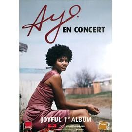 Ayo - Joyful - AFFICHE / POSTER envoi en tube