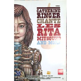 Catherine RINGER - Les Rita Mitsouko - AFFICHE / POSTER envoi en tube