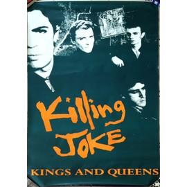 Killing Joke - Kings And Queens - AFFICHE / POSTER envoi en tube