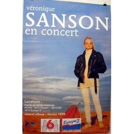 Véronique SANSON - - AFFICHE / POSTER envoi en tube