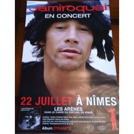 Jamiroquai - En Concert - AFFICHE / POSTER envoi en tube