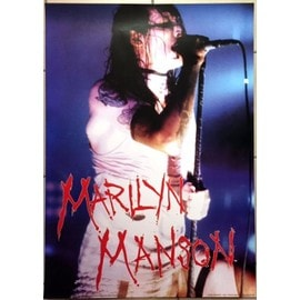 Marilyn Manson - Live - AFFICHE / POSTER envoi en tube