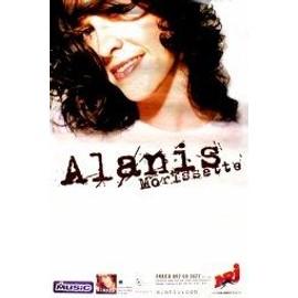 Alanis MORISSETTE - French Tour 2004 - AFFICHE / POSTER envoi en tube