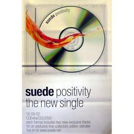SUEDE - Positivity - AFFICHE / POSTER envoi en tube