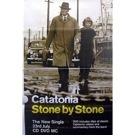 CATATONIA - Stone By Stone - AFFICHE / POSTER envoi en tube