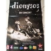 Dionysos - - Affiche / Poster Envoi En Tube