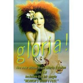 Gloria Estefan - Gloria! - AFFICHE / POSTER envoi en tube