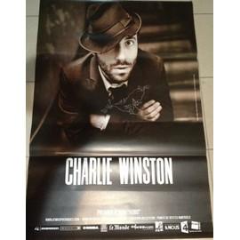Charlie WINSTON - - AFFICHE / POSTER envoi en tube