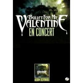 Bullet For My Valentine - En Concert - AFFICHE / POSTER envoi en tube