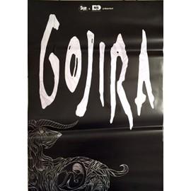 GOJIRA - - AFFICHE / POSTER envoi en tube