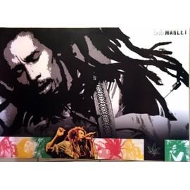 Bob Marley - Icon - AFFICHE / POSTER envoi en tube