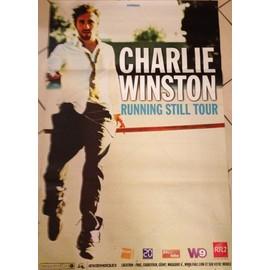 Charlie WINSTON - Running Still Tour - AFFICHE / POSTER envoi en tube