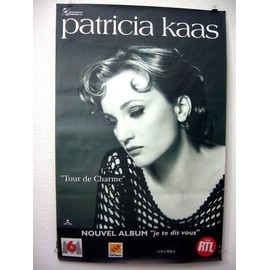 Patricia KAAS - - AFFICHE / POSTER envoi en tube