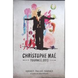 Christophe MAE -  - AFFICHE / POSTER envoi en tube