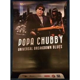 Popa Chubby - - AFFICHE / POSTER envoi en tube