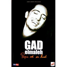 Gad Elmaleh - Papa Est En Haut - AFFICHE / POSTER envoi en tube