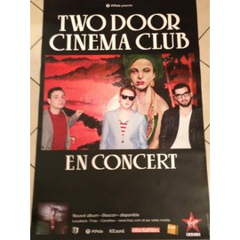 Two Door Cinema Club - - AFFICHE / POSTER envoi en tube