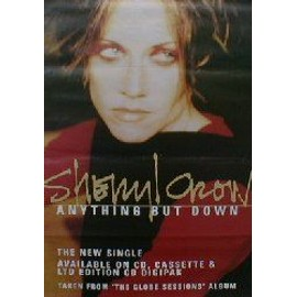 SHERYL CROW - Anything But Down - AFFICHE / POSTER envoi en tube