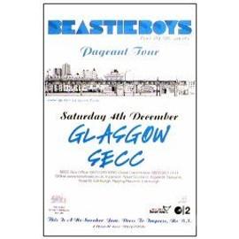 Beastie Boys - Glascow 2004 - AFFICHE / POSTER envoi en tube