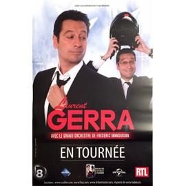 Laurent GERRA - - AFFICHE / POSTER envoi en tube
