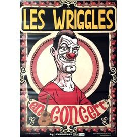 Les Wriggles - - AFFICHE / POSTER envoi en tube