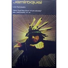 Jamiroquai - Love Foolosophy - AFFICHE / POSTER envoi en tube