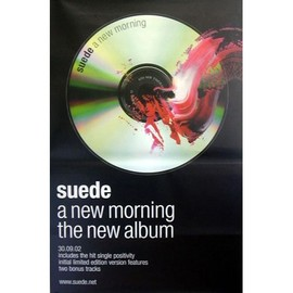 SUEDE - A New Morning - AFFICHE / POSTER envoi en tube