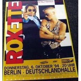 Roxette - Tour 1994 - AFFICHE / POSTER envoi en tube