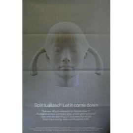 Spiritualized - Let It Come Down - AFFICHE / POSTER envoi en tube