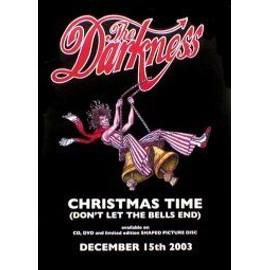 Darkness - Christmas Time - AFFICHE / POSTER envoi en tube