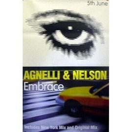 Agnelli & Nelson - Embrace - AFFICHE / POSTER envoi en tube