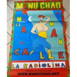 Manu Chao - La Radiolina - AFFICHE / POSTER envoi en tube