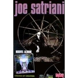 Joe SATRIANI - Engines Of Creation - AFFICHE / POSTER envoi en tube