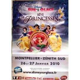 Disney Sur Glace - Rêve de Princesse - AFFICHE / POSTER envoi en tube