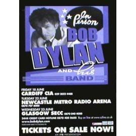 Bob DYLAN - UK Tour June 2004 - Original Promo Poster - AFFICHE / POSTER envoi en tube