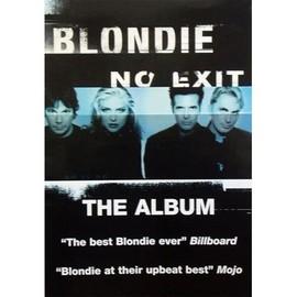 Blondie - No Exit - AFFICHE / POSTER envoi en tube