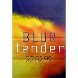 BLUR - Tender - AFFICHE / POSTER envoi en tube