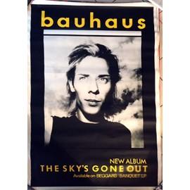 Bauhaus - The Sky's Gone Out - AFFICHE / POSTER envoi en tube