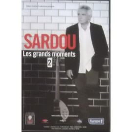Michel SARDOU - Les Grands Moments 2 - AFFICHE / POSTER envoi en tube