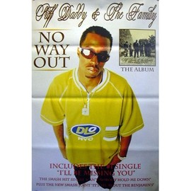 Puff Daddy - No Way Out - AFFICHE / POSTER envoi en tube